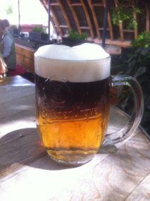 řezané pivo Pod Mostem